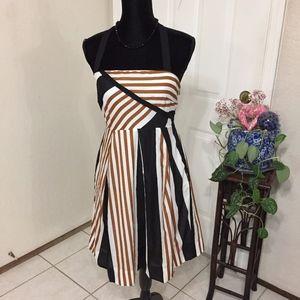 Moulinette Soeurs Striped Halter Dress(size 4)(X2)